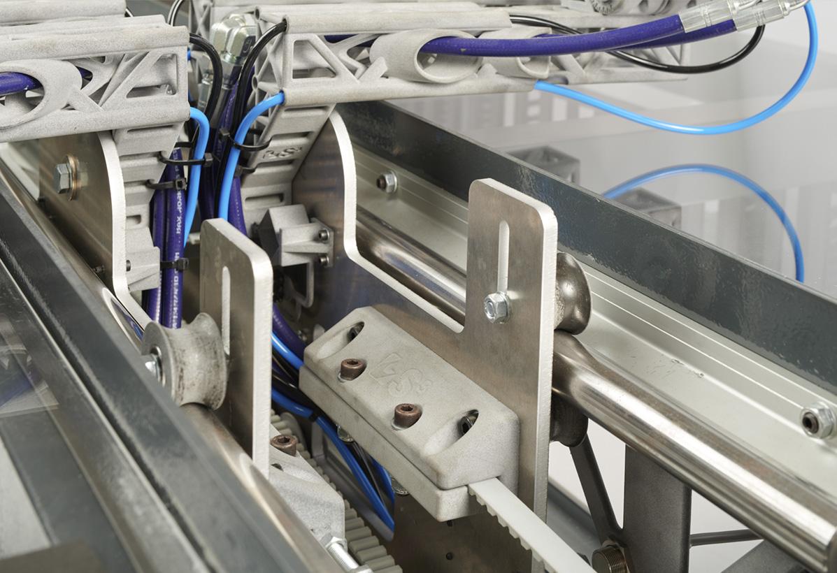 detalle de parte de maquinaria modular FICEP S3