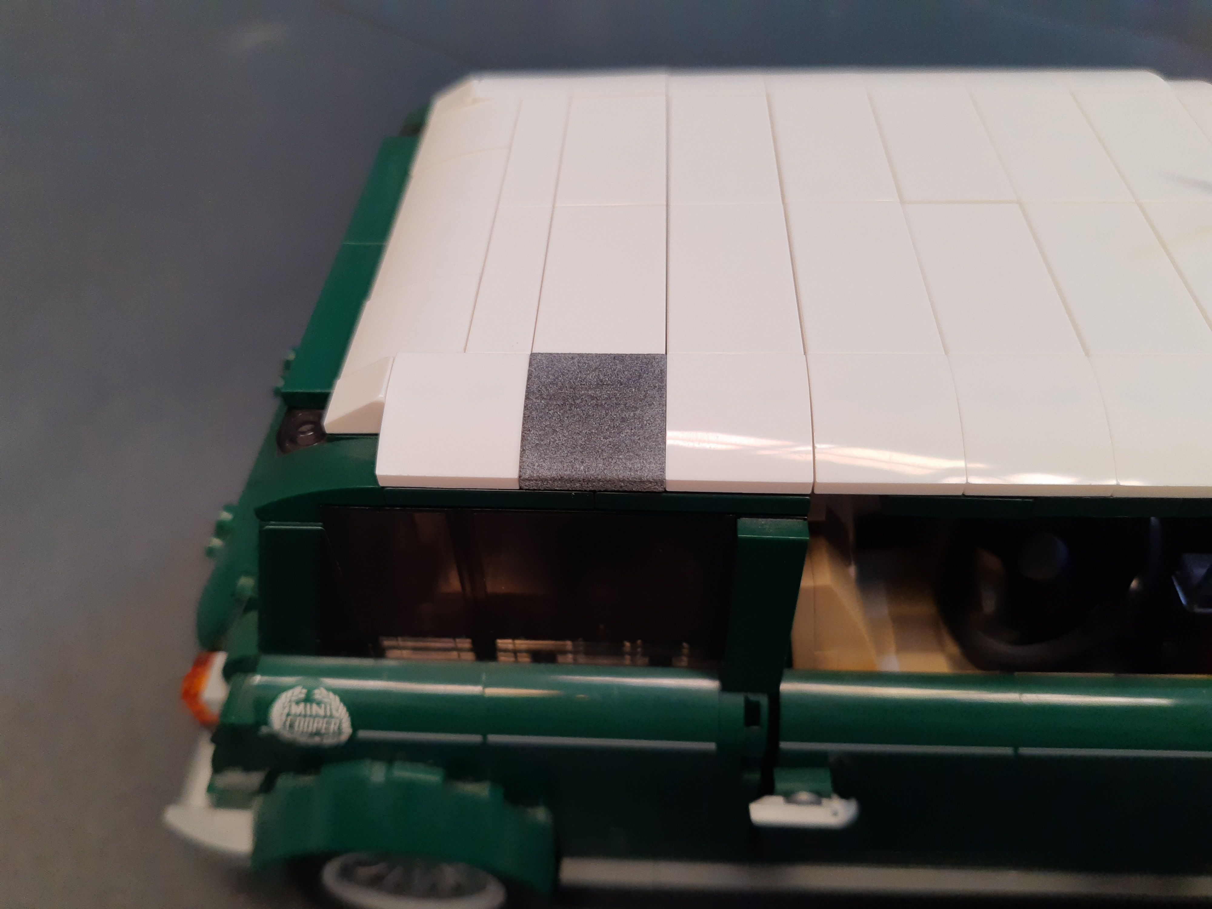 Mini Cooper con pieza en PA12