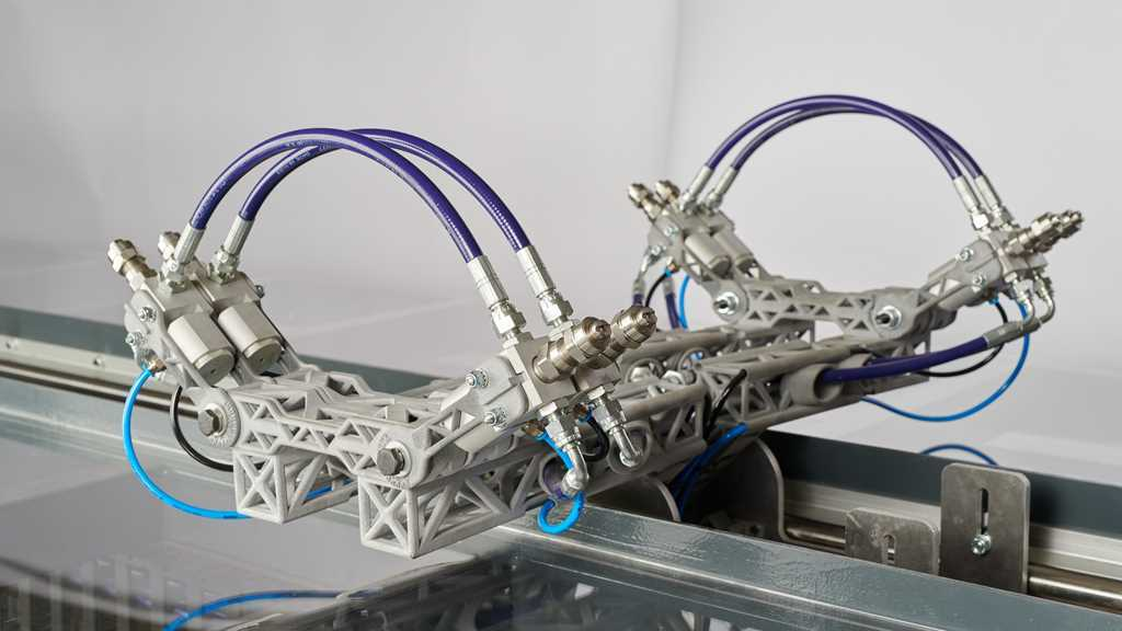 Brazo robótico par línea de pintura - impresión 3D - FICEPS3