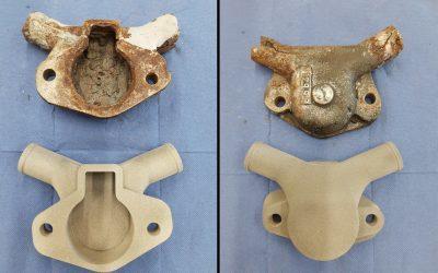 ¿Cuándo puede ser útil la impresión 3D? Fabricación de piezas descatalogadas para barco.