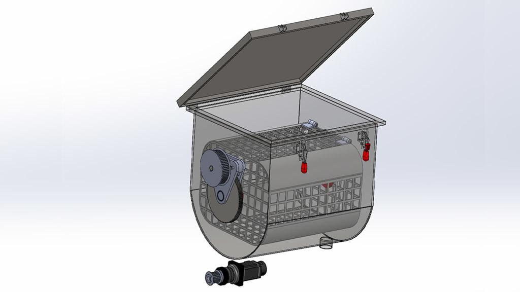Project Black máquina de teñir FICEP S3