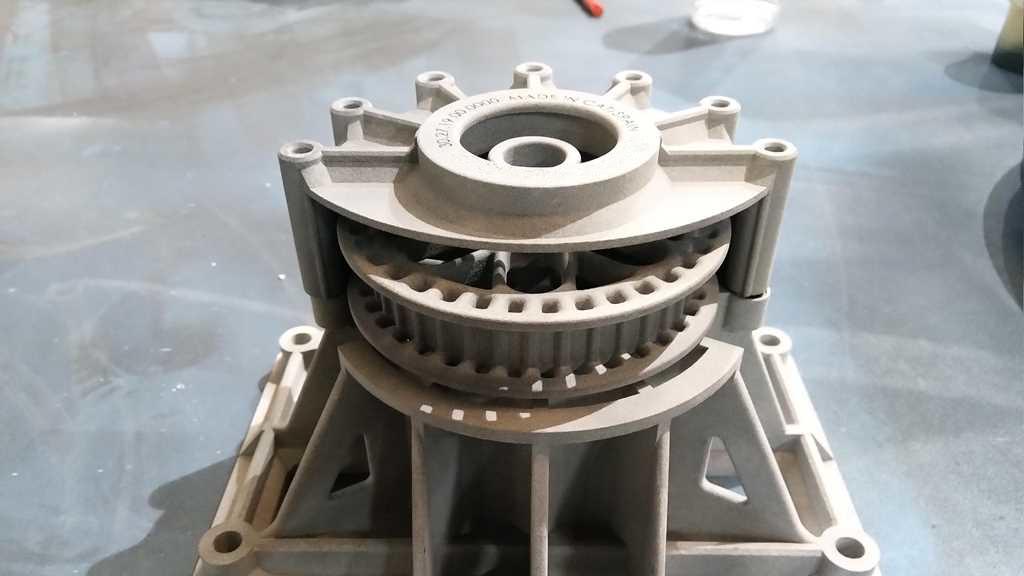 Sistema de accionamiento para brazo - impresión 3D - FICEPS3