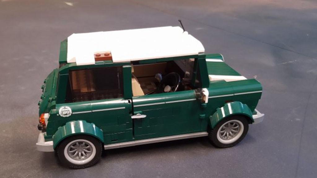 Piezas 3D: reconstruyendo una maqueta de LEGO Creator con Fabricación Aditiva