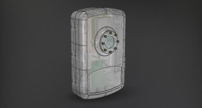 Diseño para carcasa de cámara de fotos de Roger Zambrano