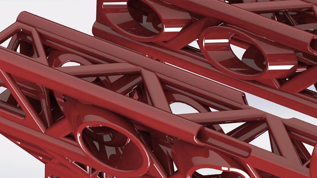Maquinaria 3D: piezas impresas de la daVINCI painting line