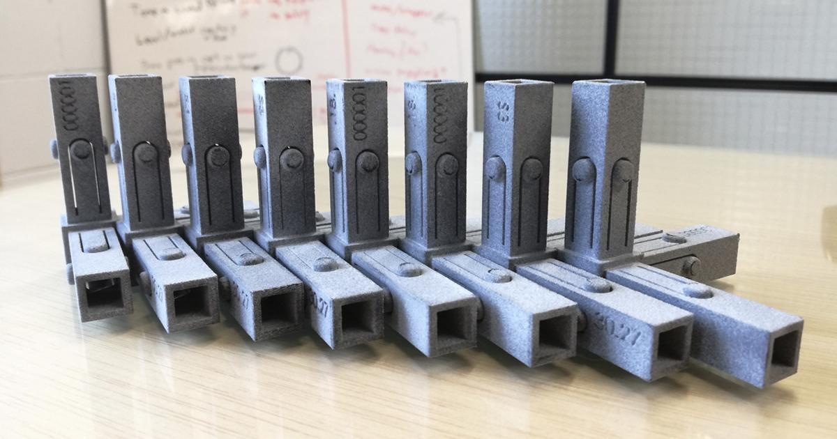 sistema de unión impreso en 3D y creado por FICEP S3