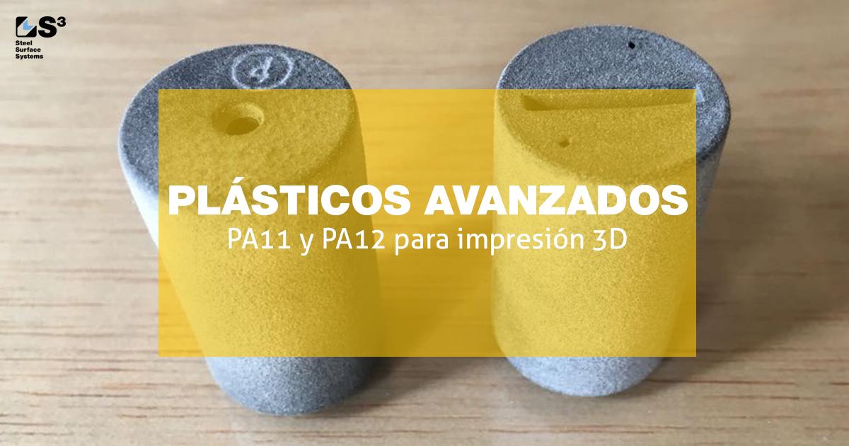 plásticos avanzados par al impresión 3D