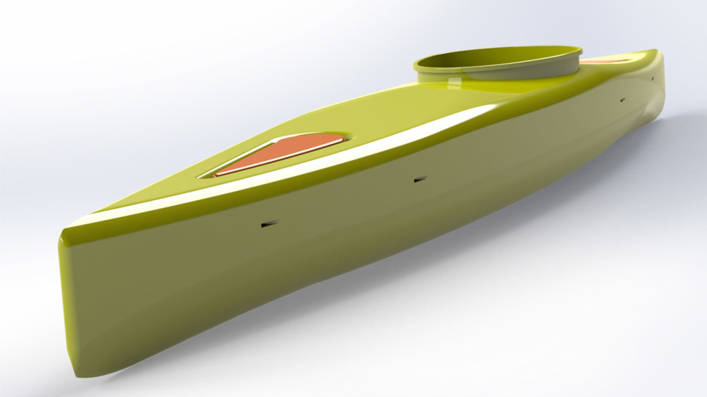 Diseñando un kayak para fabricar con impresión 3D